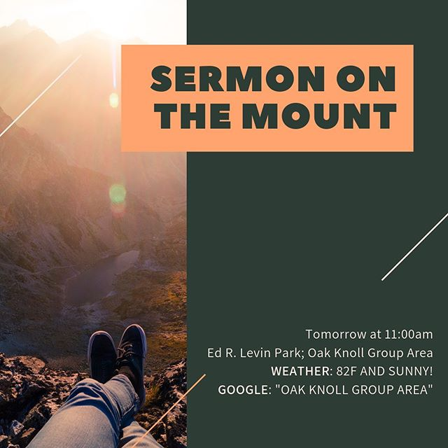 We will be having a special service tomorrow! bring your friends, blankets and sunscreen! Complimentary lunch afterwards. See you all there! #igniterolcc