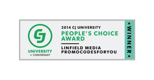 September 2014: Linfield Media wins CJ's People's Choice Award. Chosen by the advertiser community for demonstrating the best partnership qualities and excellence in delivering value.
