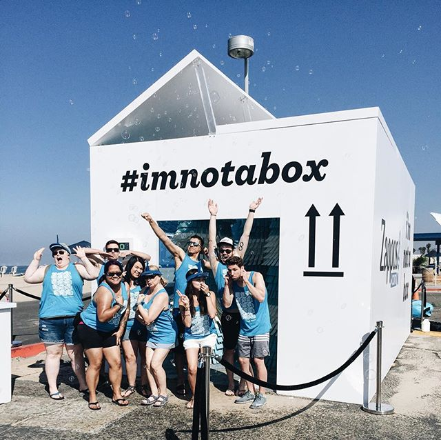 Bolsa Chica, we love you!! A HUGE thank you to everyone who stopped by our first ever human car wash this weekend. #imnotabox