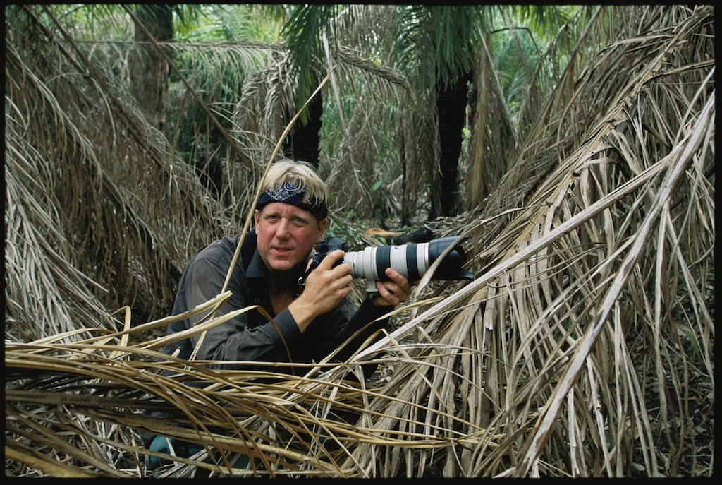 Wildlife photographer Steve Winter ©National Geographic