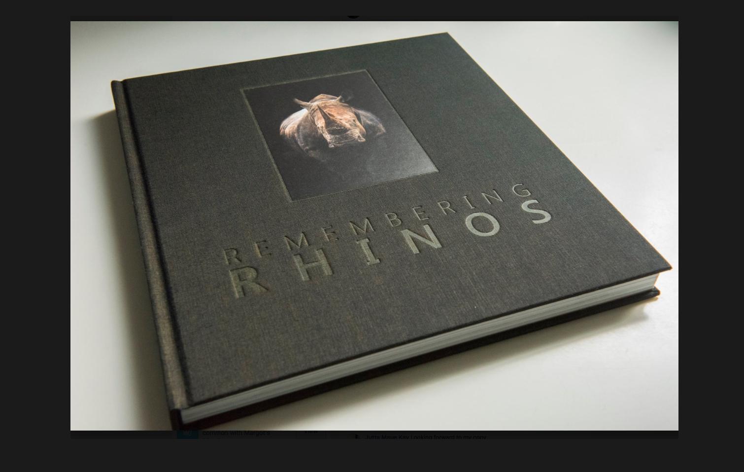 ©Remembering Rhinos/Margot Raggett