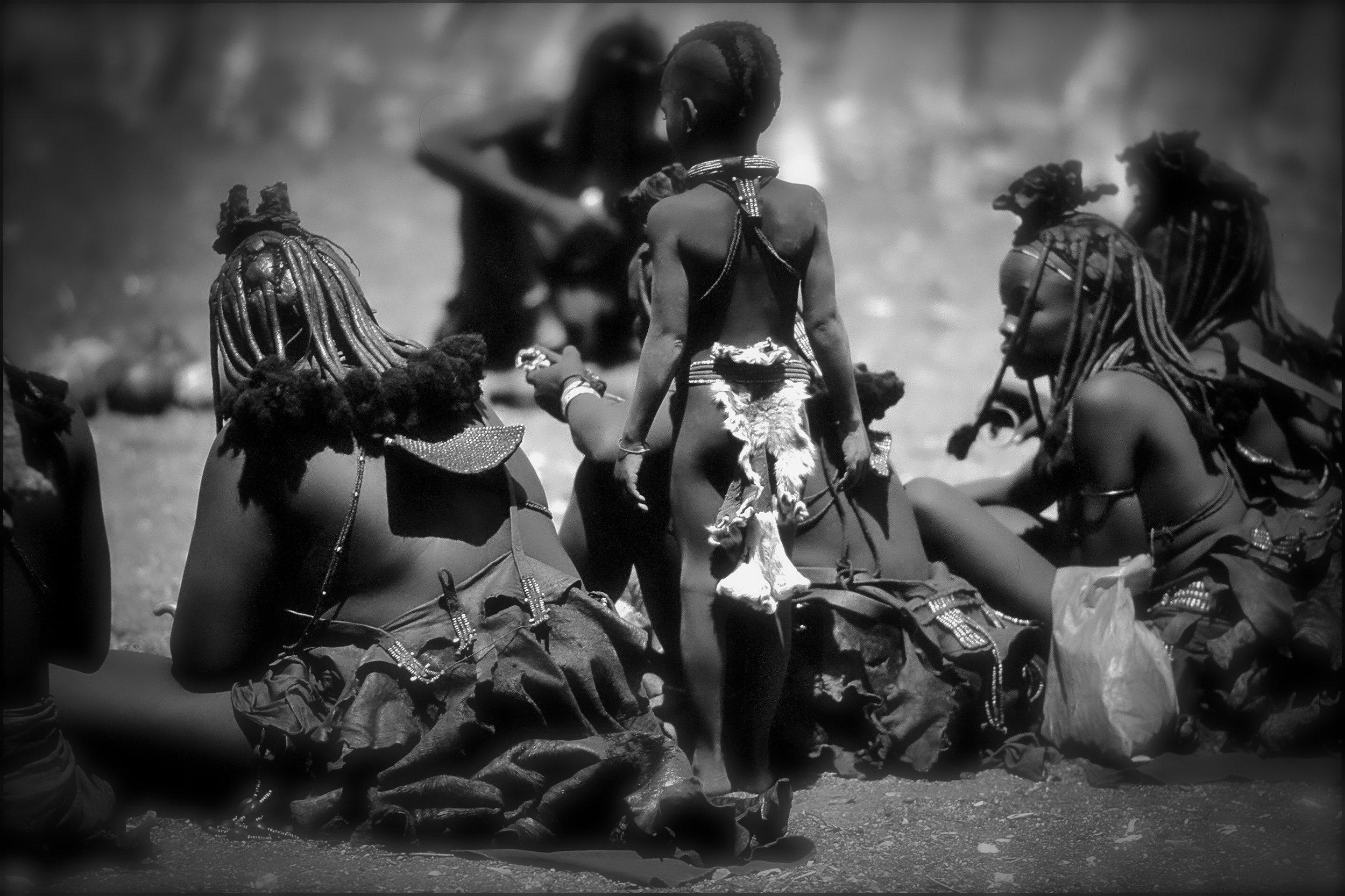 Himba, Opuwo, Namibia.