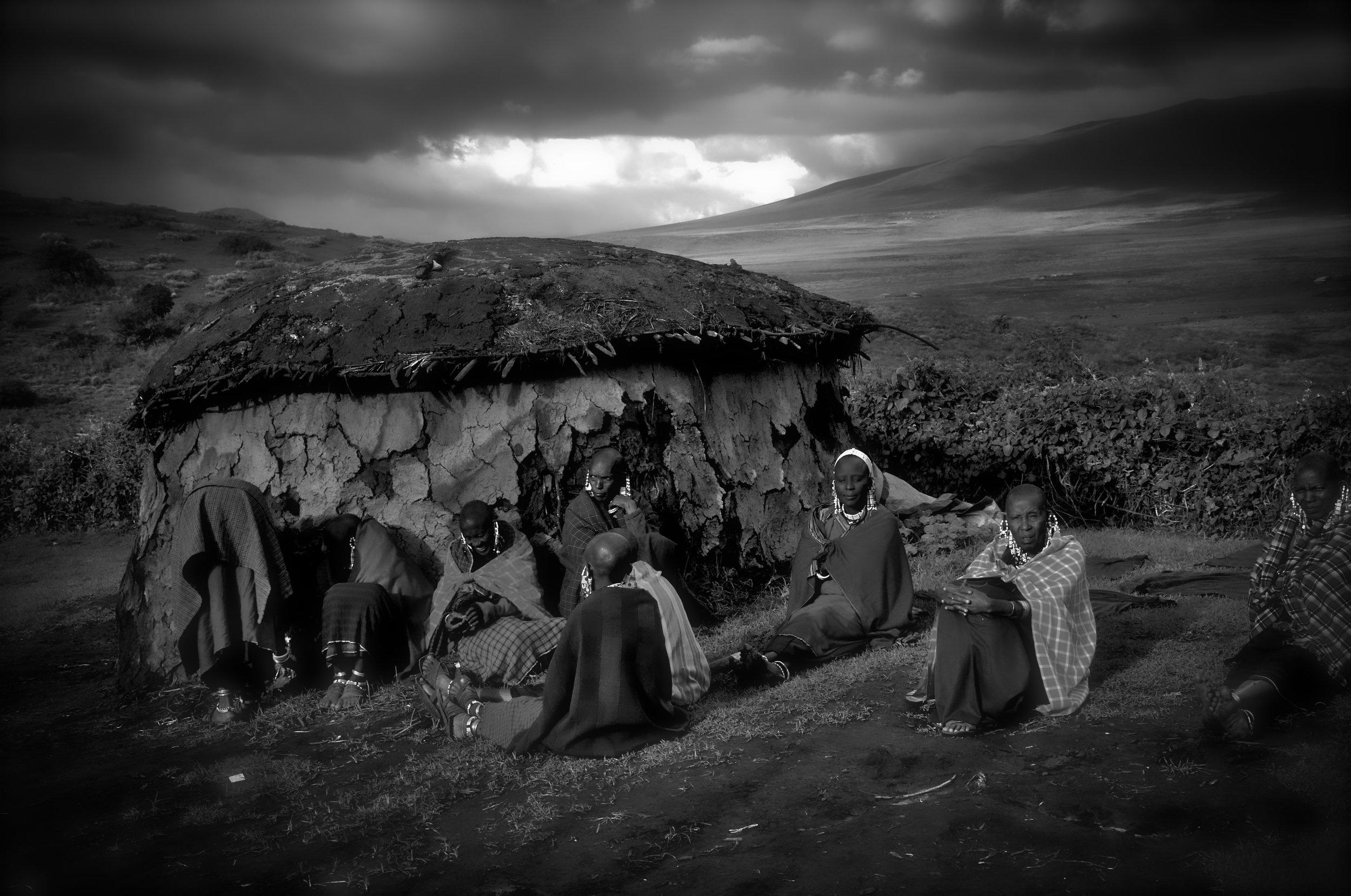 Maasai, Ngorongoro Crater, Tanzania.