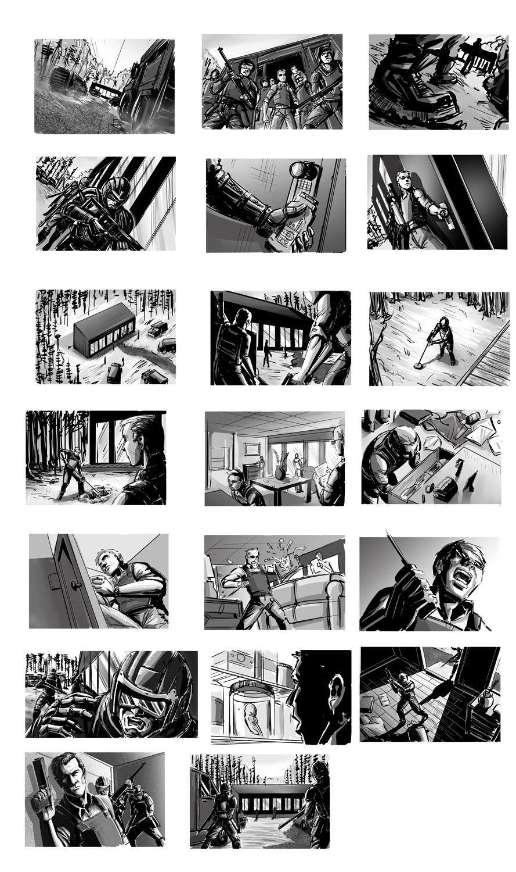 Incipient Storyboards