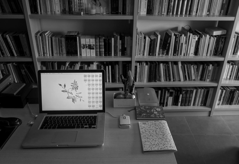 Artist work space