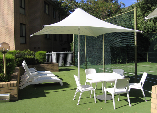 Centra Umbrella Makmax Australia Shade Umbrellas