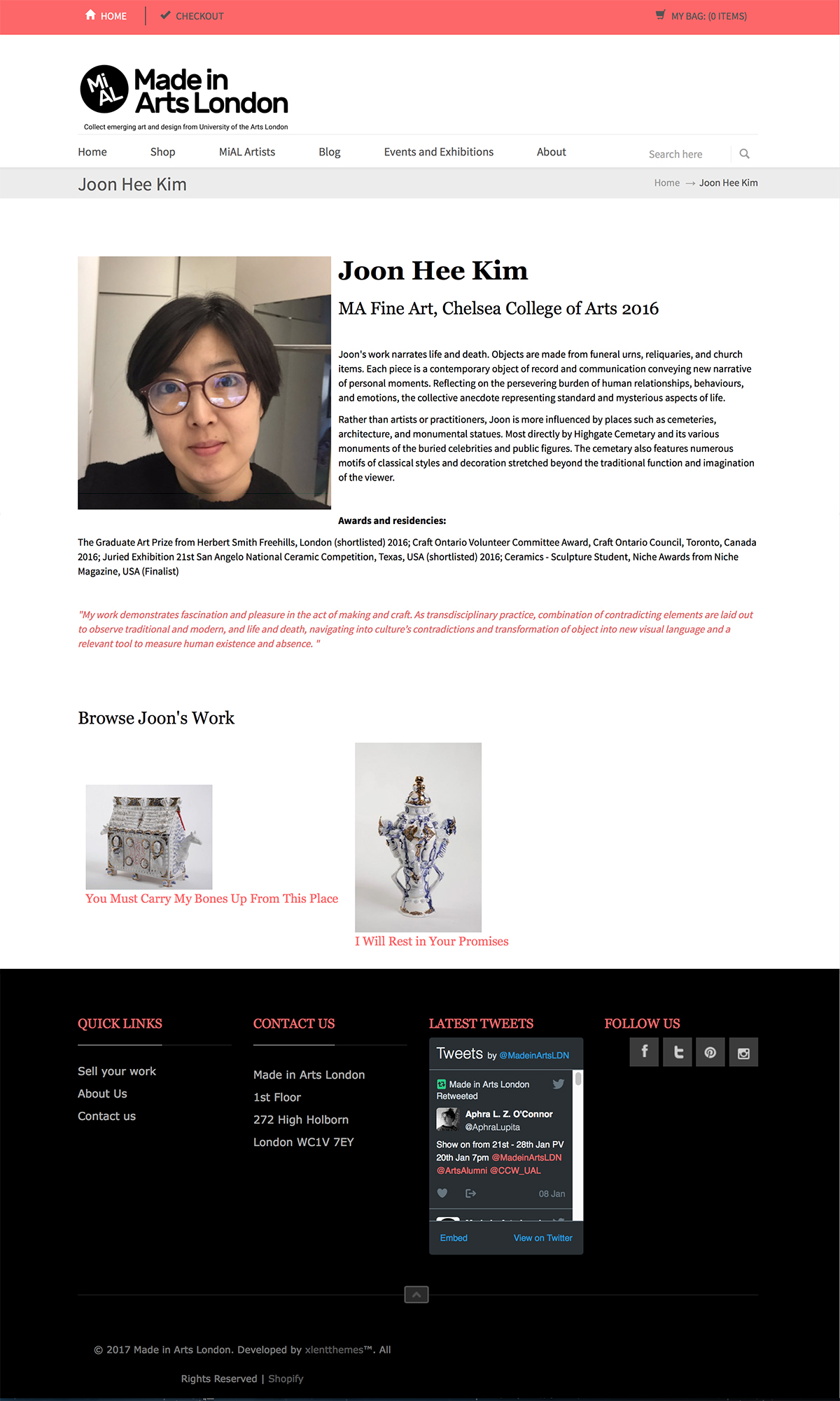 Joon Hee Kim MA Fine Art, Chelsea College of Arts 2016  https://www.madeinartslondon.com/pages/joon-hee-kim