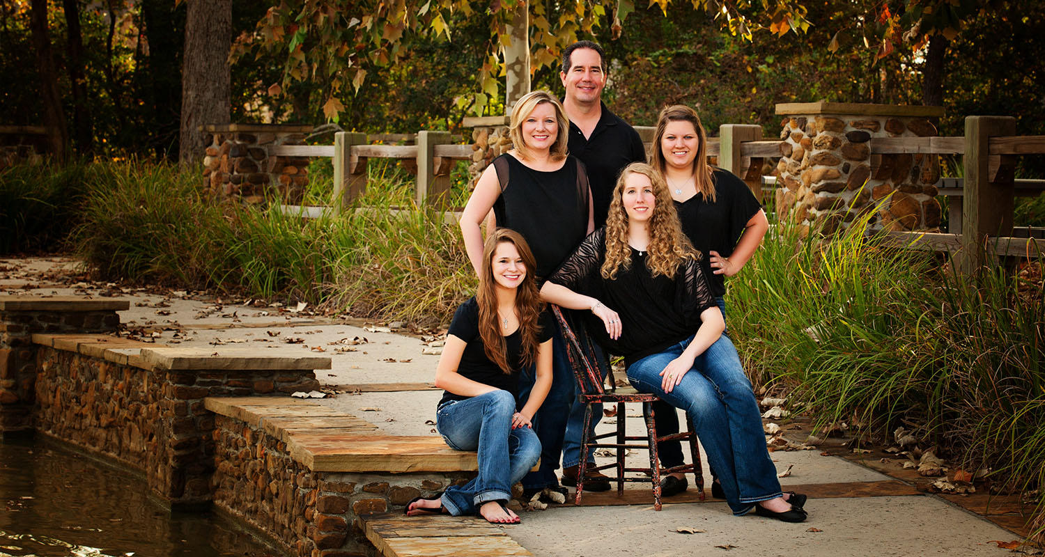 family pictures The Woodlands, TX
