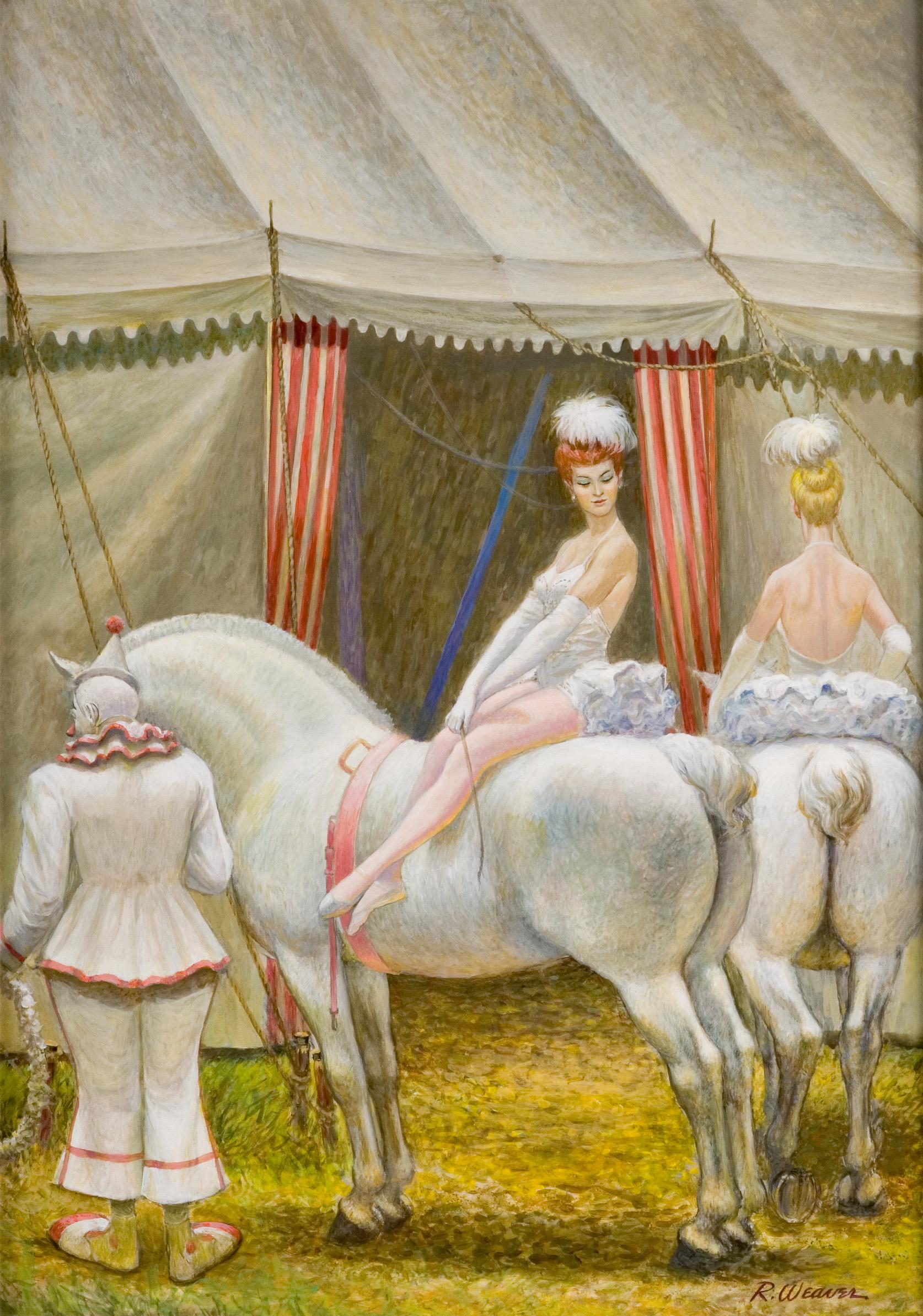 """""""White Riders"""" c. 1986*"""