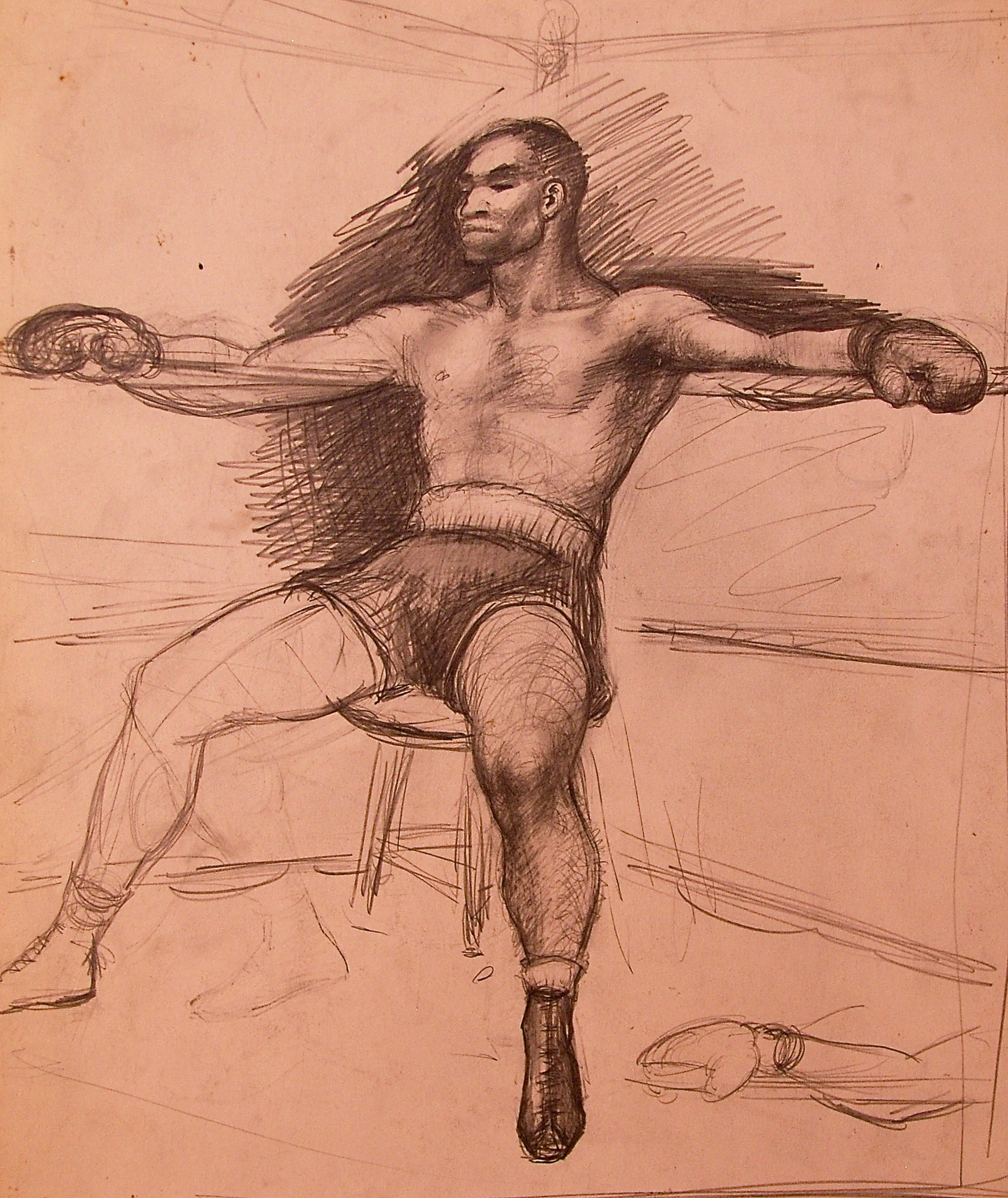 """""""Prize Fighter"""" c. 1930 *"""