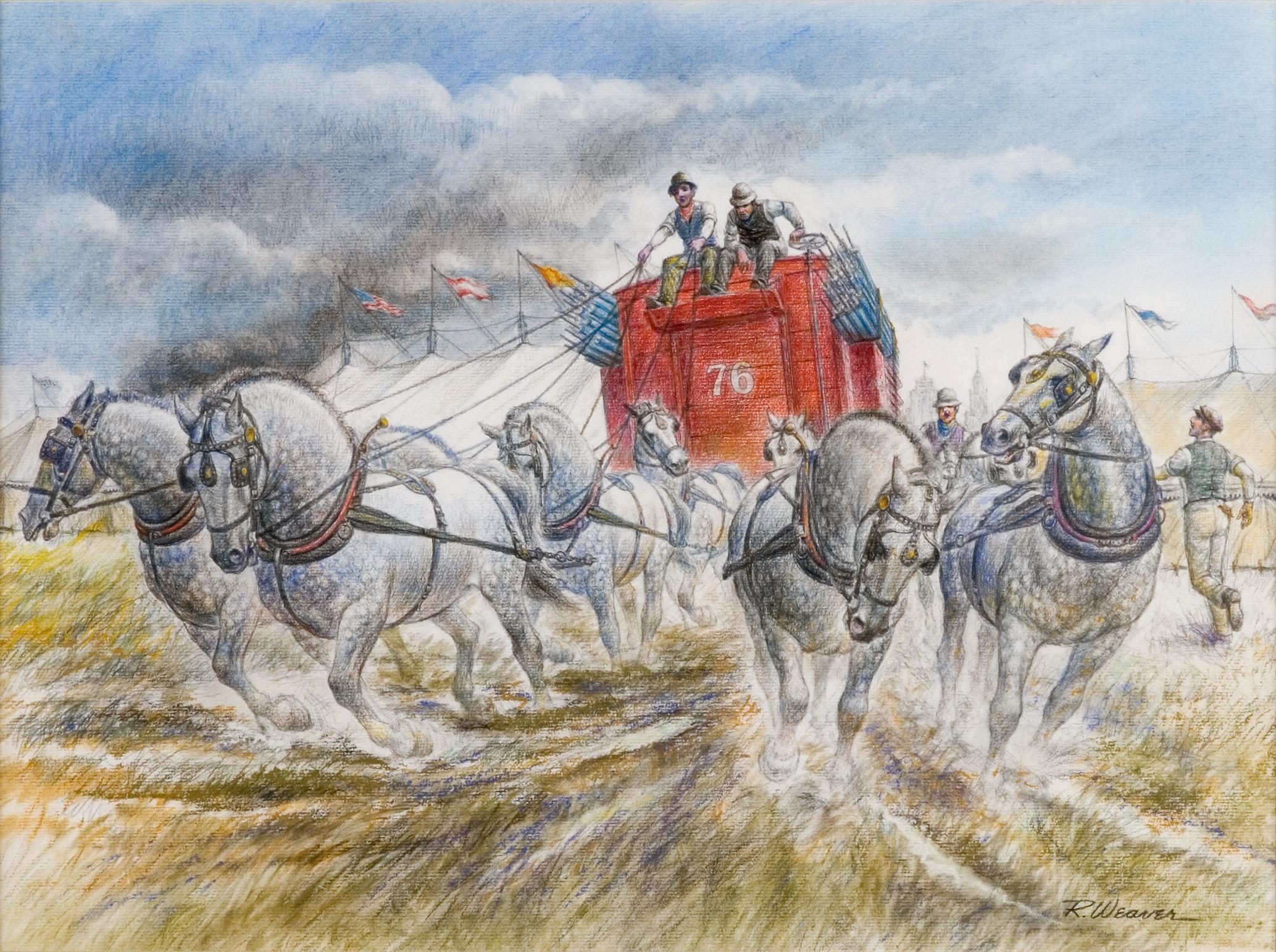 """""""Pole Wagon"""" c. 1985"""
