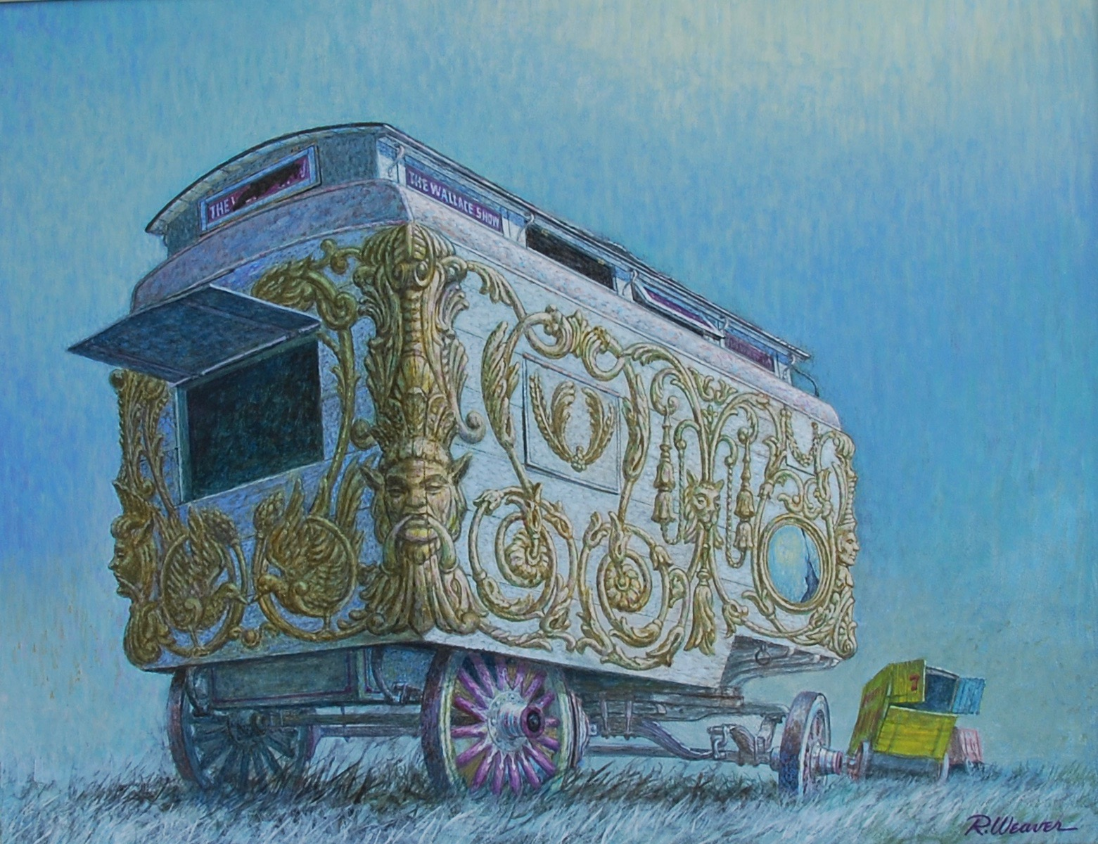 """Wagons In Moonlight"" c. 1983*"