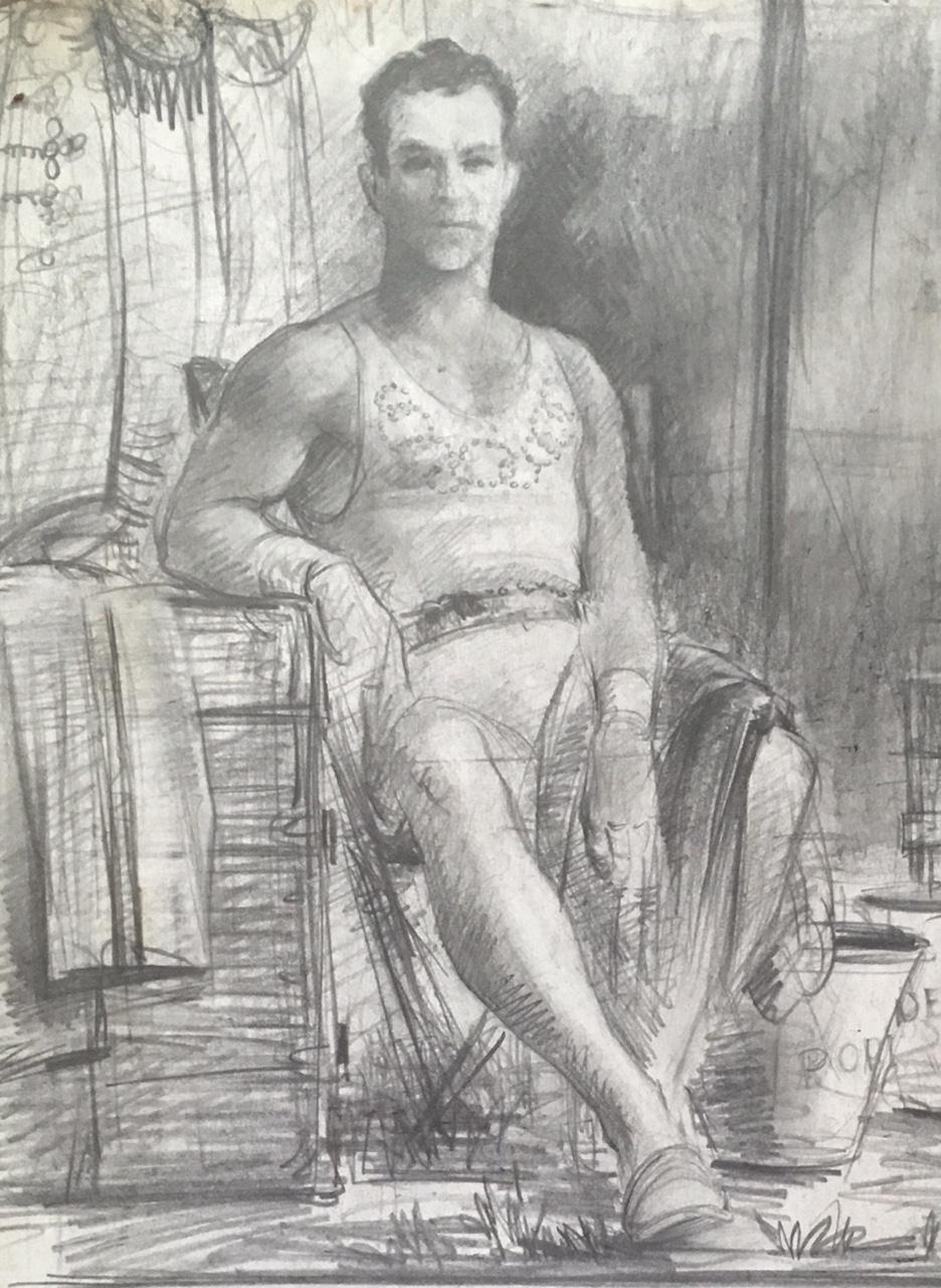 """Study of a Flier"" c. 1937*"