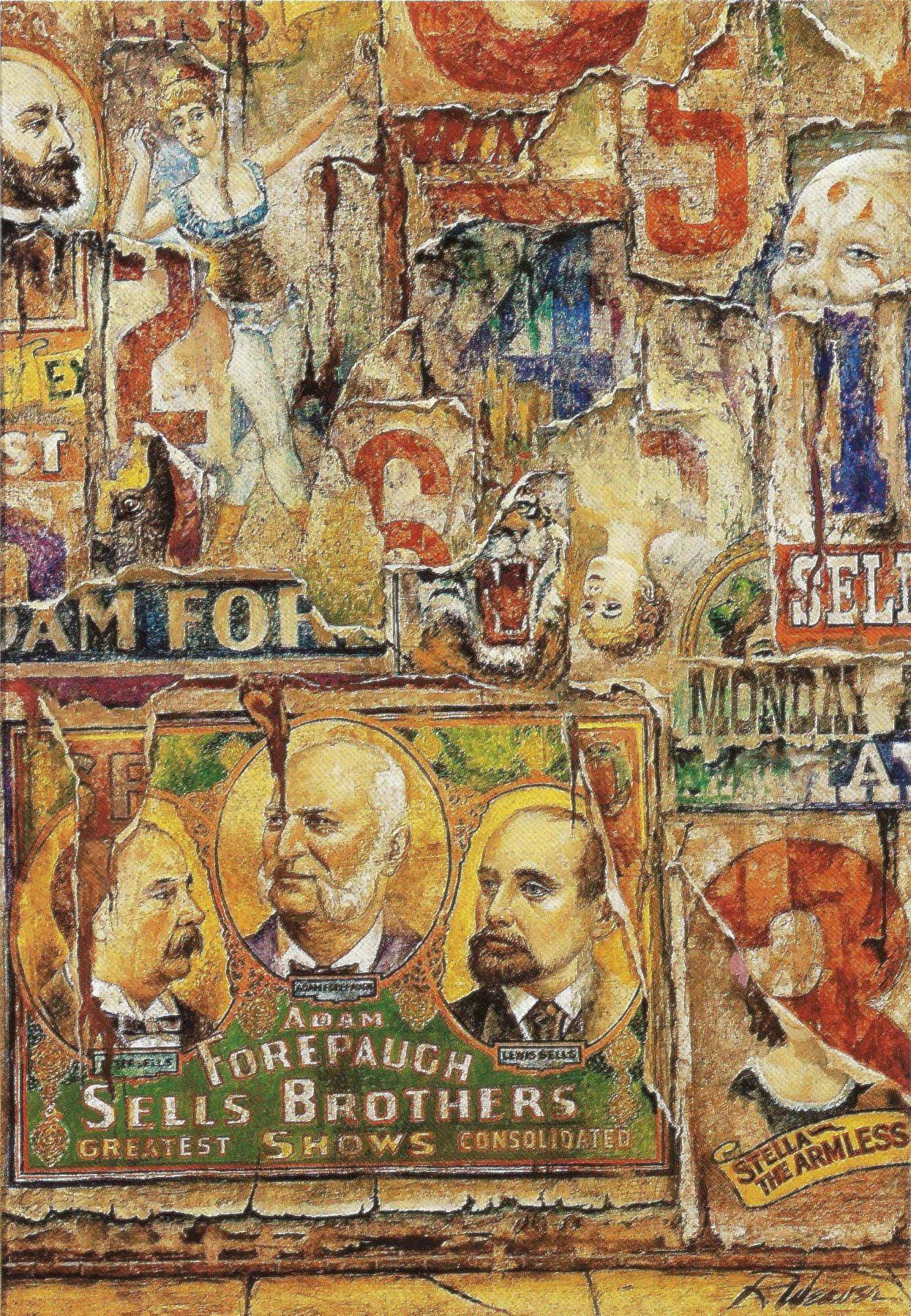 """Circus Graffiti"" c. 1985"