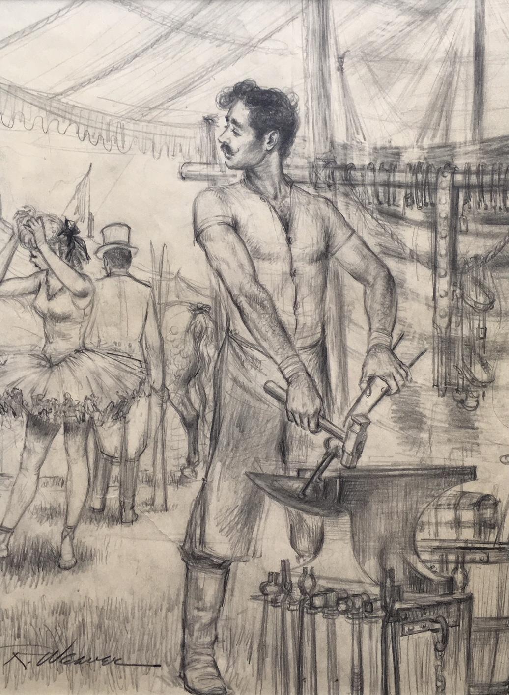 """Blacksmith"" c. 1955 *"