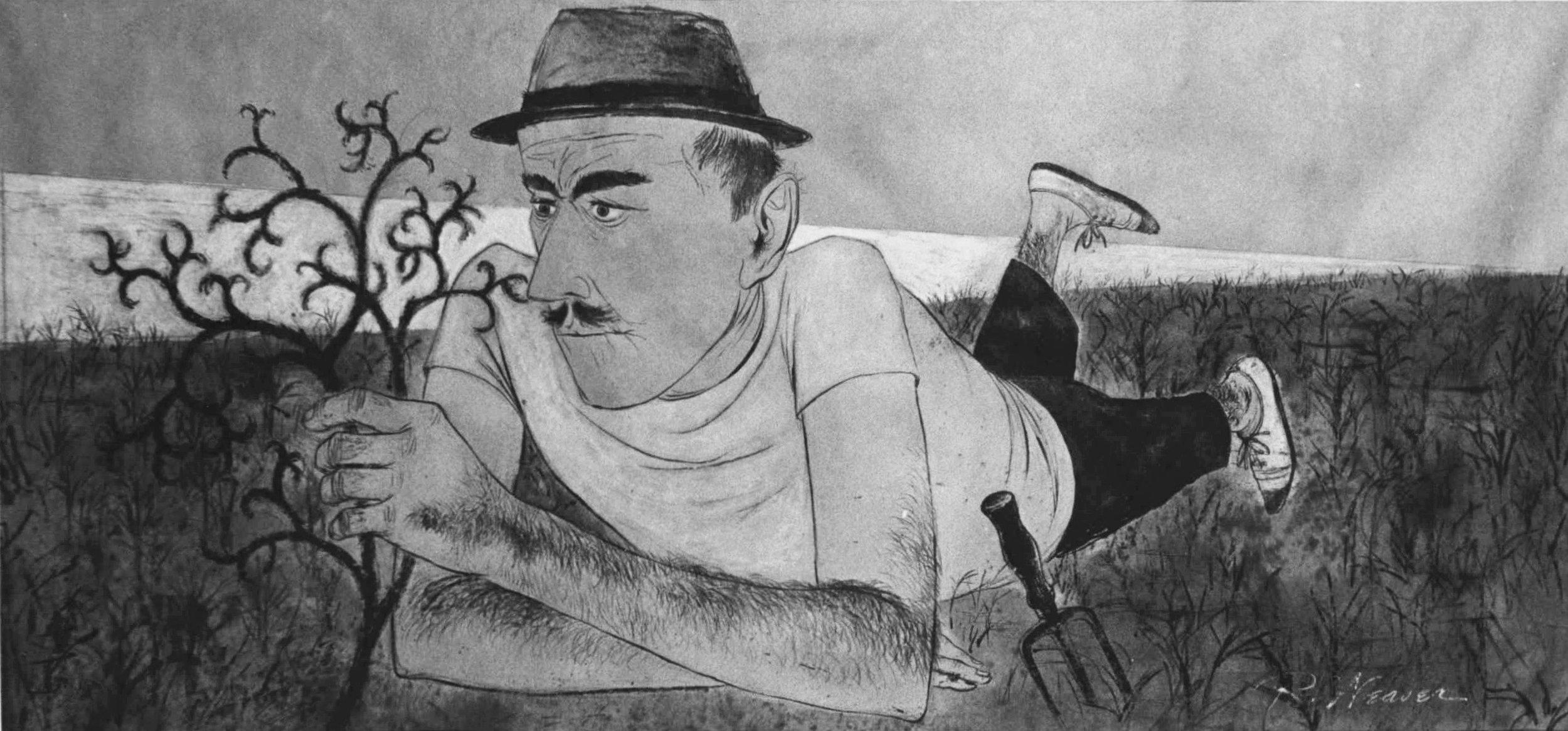 """The Bewildered Man"" c. 1950"