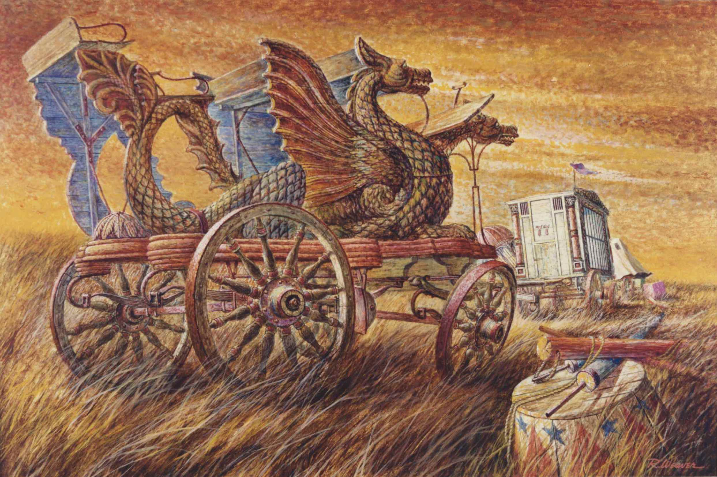 """Dragon Wagon"" c. 1980"