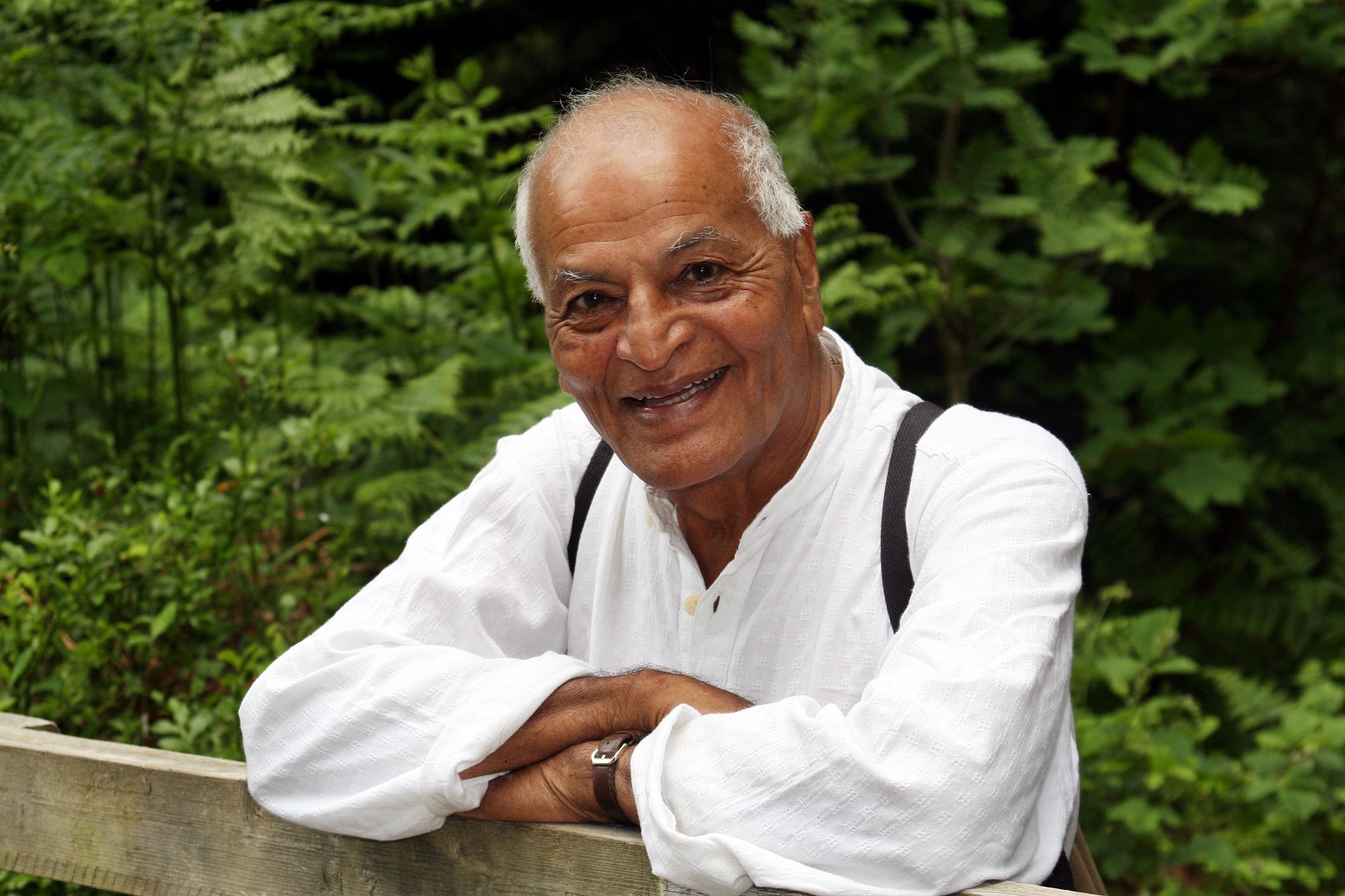 Nuestra inspiración, el peregrino Satish Kumar.