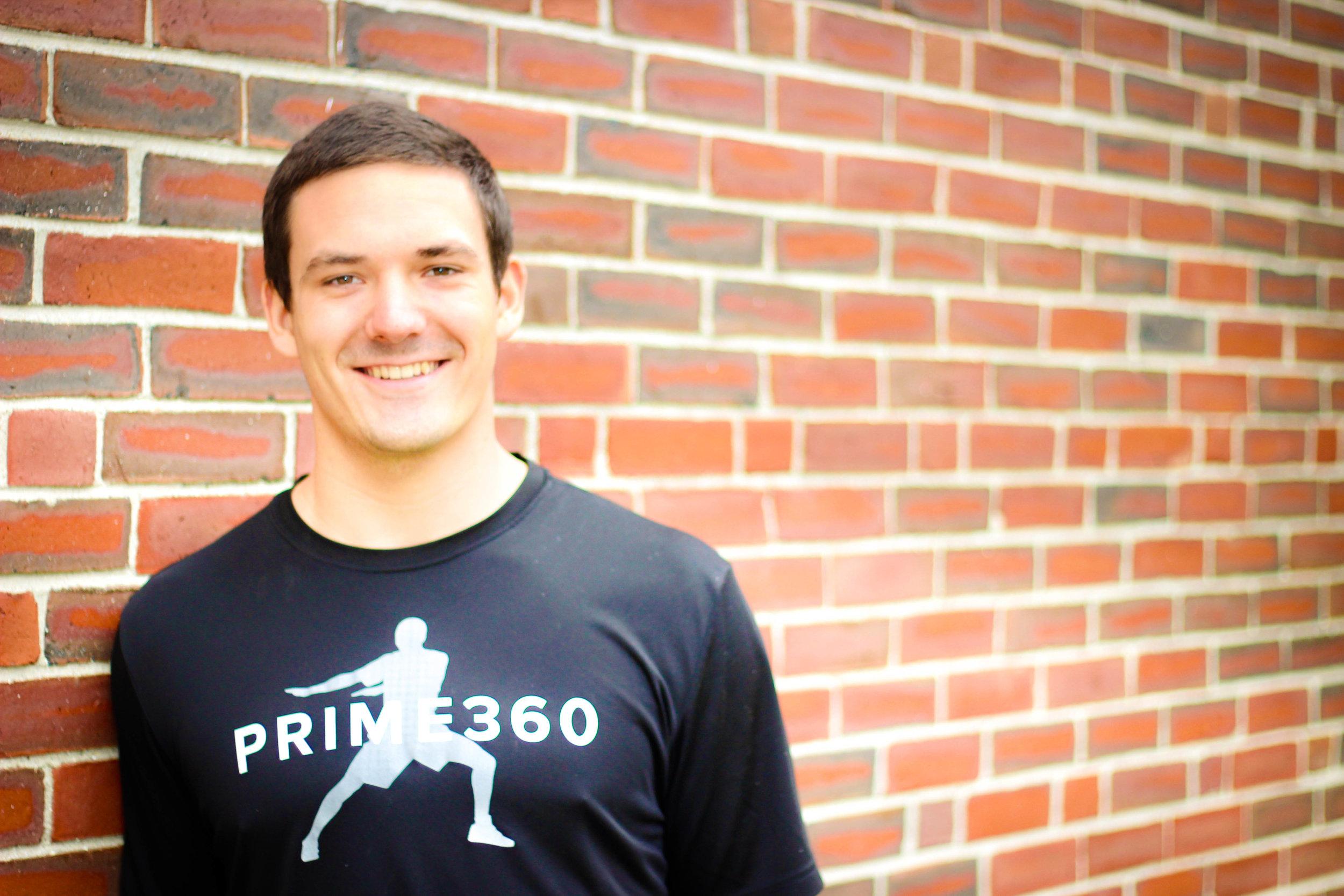 My name is Robert Porter. I'm a certified Personal Trainer/Performance Enhancement Coach and am currently attending University of Southern Maine where I will earn a degree in Athletic Training. I have been working with PRIME360 for over two years. Being a former client and now employee of PRIME360 has helped me realize that exercise and a healthy lifestyle is extremely important, not only for well-being, but also to live life to my fullest potential.   Growing up I played football, basketball, track, and baseball. My passion for sports has led to several injuries throughout my playing career. These injuries caused me to miss very important seasons in my life.  I don't want other athletes to experience and go through what I did and because of this my goal is to make sure everyone who trains with me can play the entire season without pain and to the best of their ability.  Whether it's helping my athletes stay injury free or getting clients out on that hike they have been dreaming about, my goal is to help all of my clients at PRIME360 live the healthy, active lifestyle they want.   Your coach/teammate/friend,  Robbie