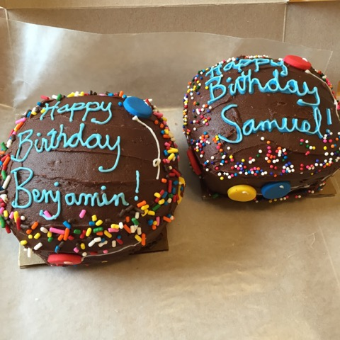 Twin Smash Cakes