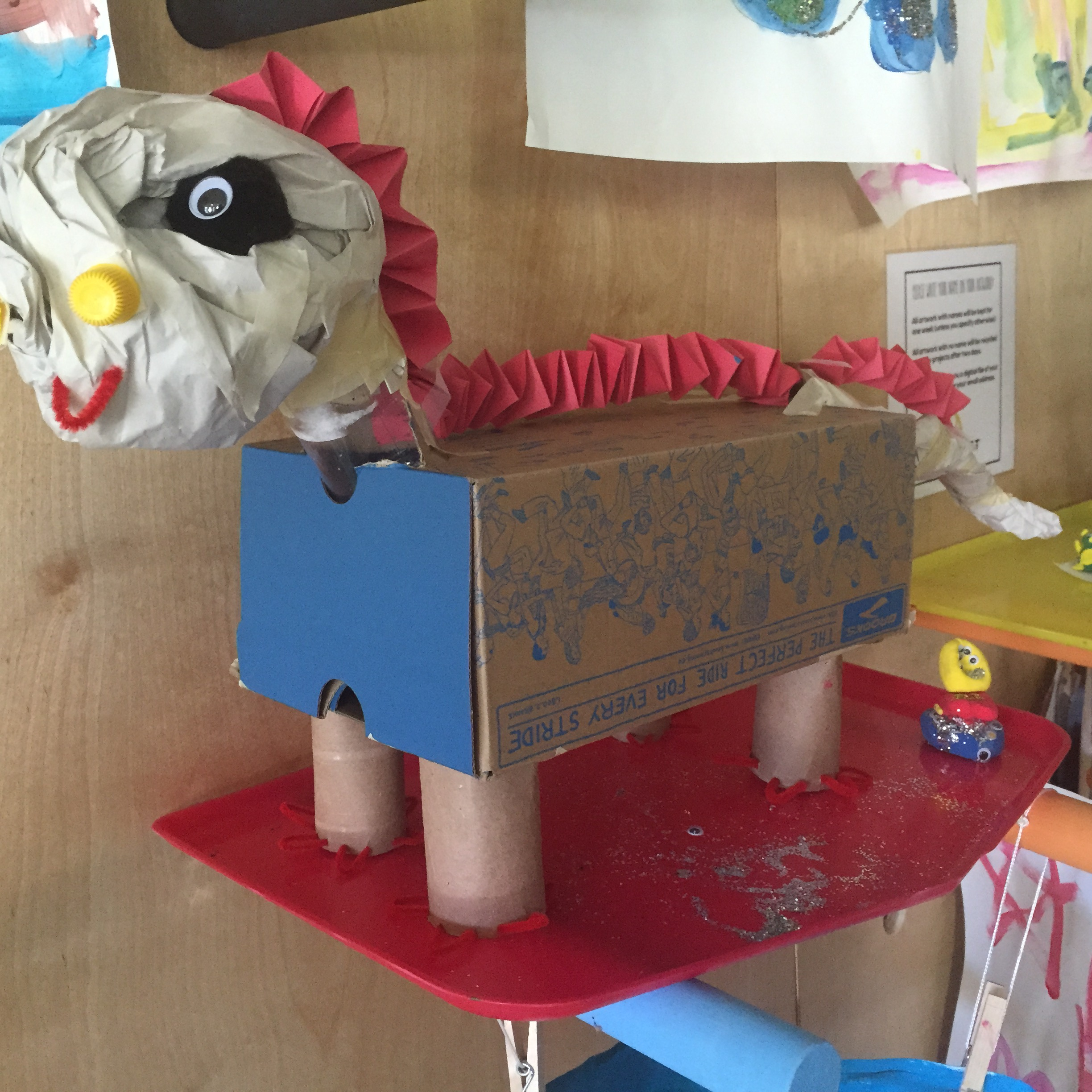 Sunday, May 27 - Recycled Materials Sunday3:00 pm - 5:00 pmCome build with recycled materials! Our big