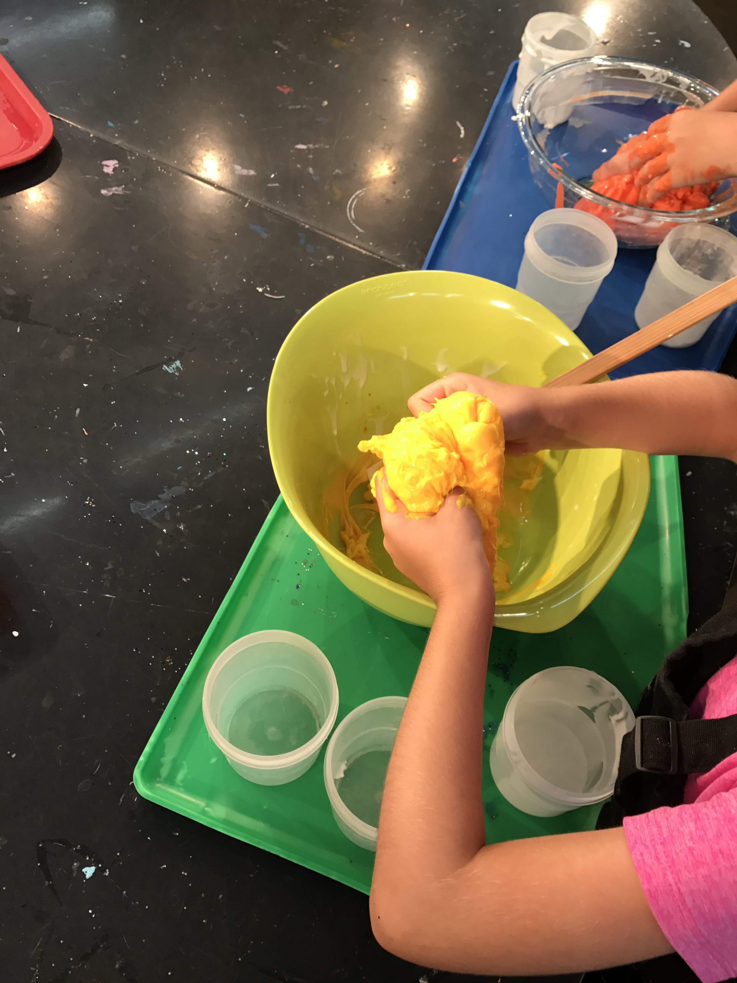 Tuesday, May 29 - Slime!2:00 pm - 6:00 pm$8 members / $10 non-membersCome make slime! Kids will get to mix, measure and stir to create their own slime. Their slime will be sent home in a ziploc baggie.Sign up for a time slot here.
