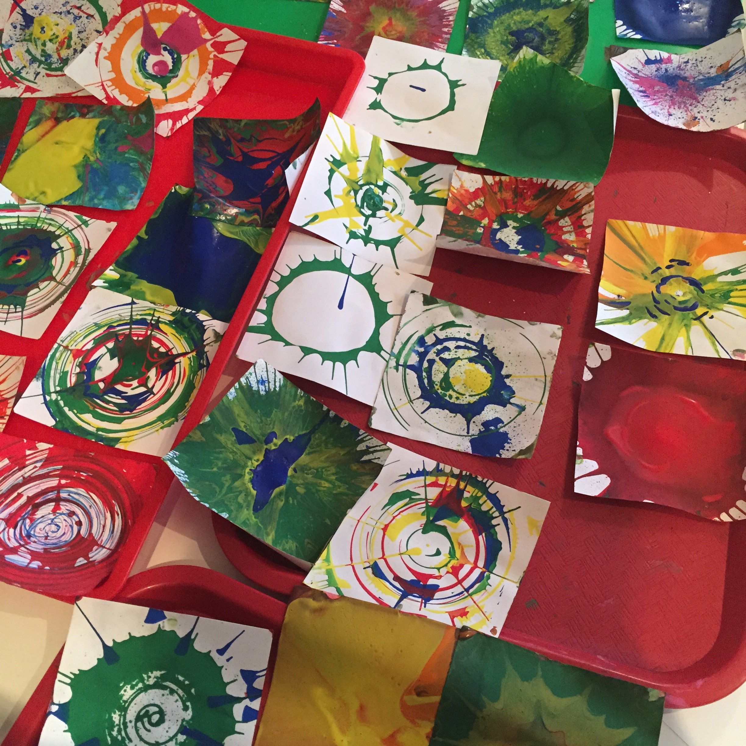 Thursday, May 31 - Spin Art Afternoon1:00 pm - 3:30 pmEvery kid's favorite art machine will be out and setup on our Scribble Space table. This activity is included with regular Art Free Play ($15 + tax or FREE to members). Sign up for a time slot here.