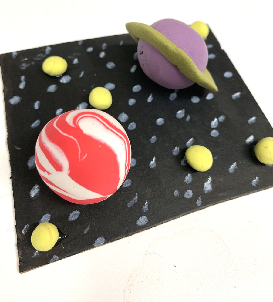 Model Magic 3D Planets. By The Art Project