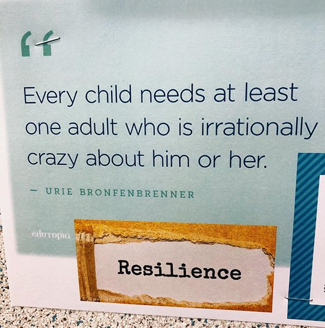Quote at the school I'm visiting today and it speaks to my heart.