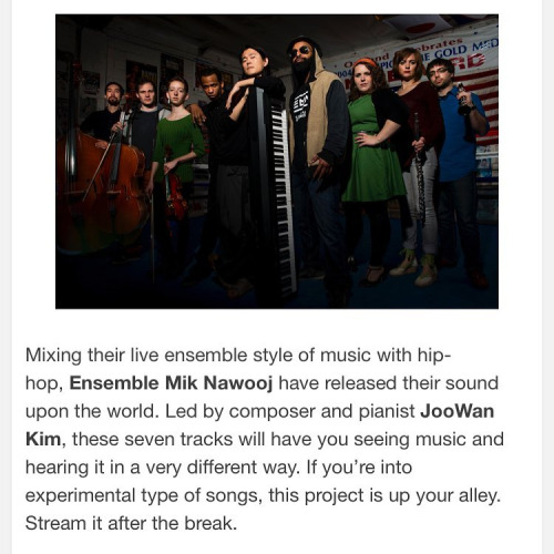 Ensemble Mik Nawooj have released their sound upon the world -  Joehova's Mindframe