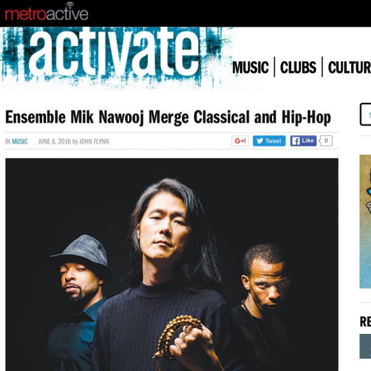 """A bold statement about rap's place within our culture."" -  Metro   See you on  Saturday!"