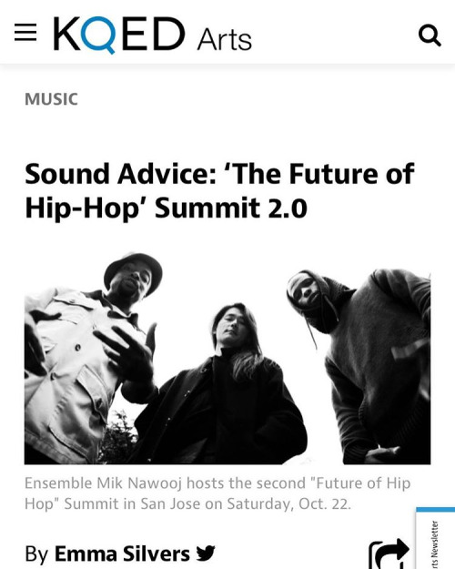 """What is the future of hip-hop?… if you've ever heard EMN perform, you probably start with this: it's something that won't be easily contained."" - KQED   See you Saturday! Tix  here"