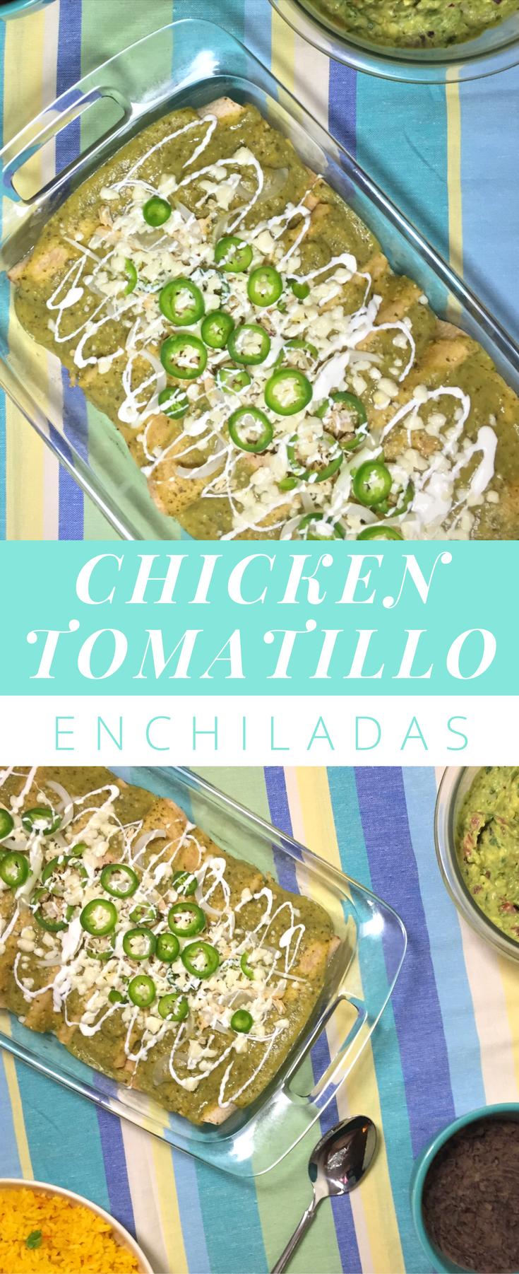 chicken-tomatillo-enchiladas