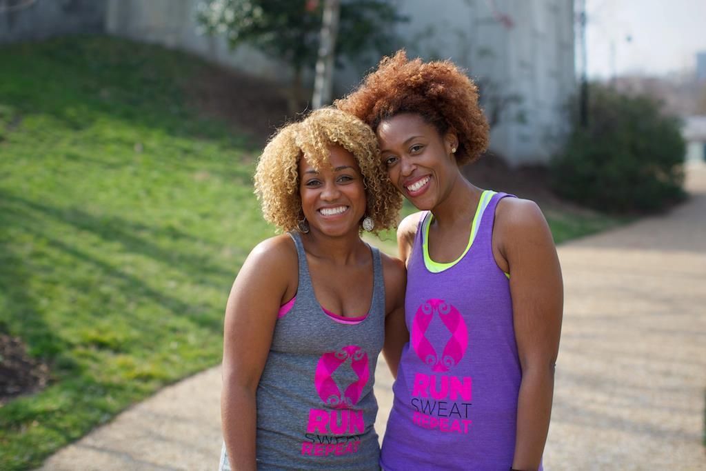 Black Girls Run Founders,Ashley Hicks and Toni Carey