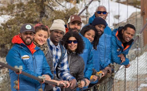 Members of Outdoor Afro