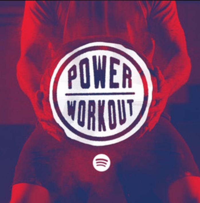 Power Workout Playlist on Spotify