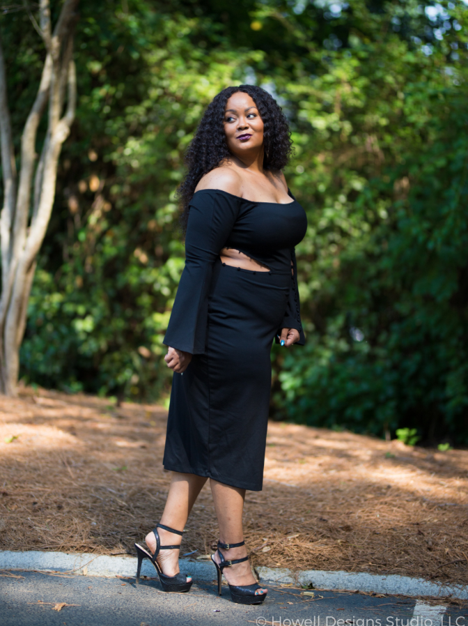 Marie Denee, CEO of The Curvy Fashionista, Photo: Howell Designs Studio LLC