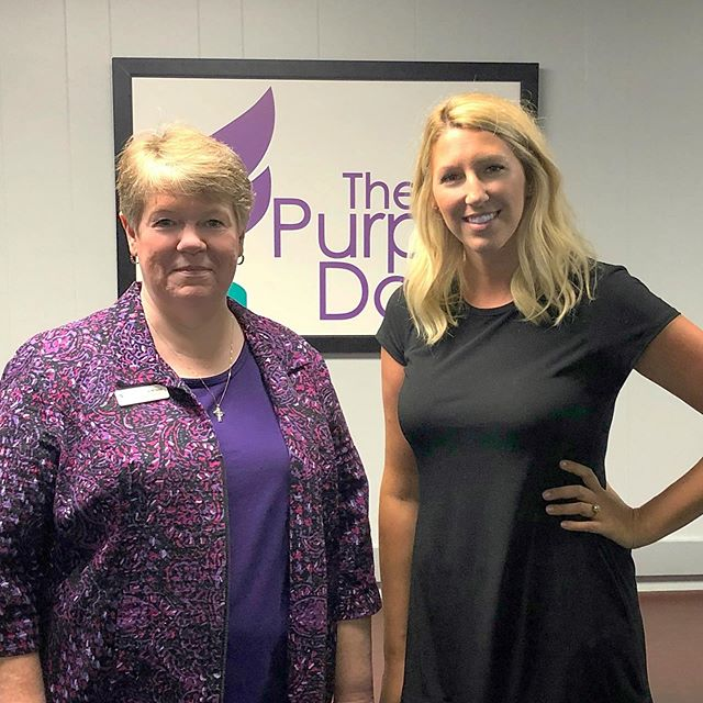 We had the honor of visiting with the amazing team at @purpledoortx and dropping off the year's donation of $8000! Thank you to all the local businesses who donate to our raffle. Please eat and shop local when visiting #portaransas!