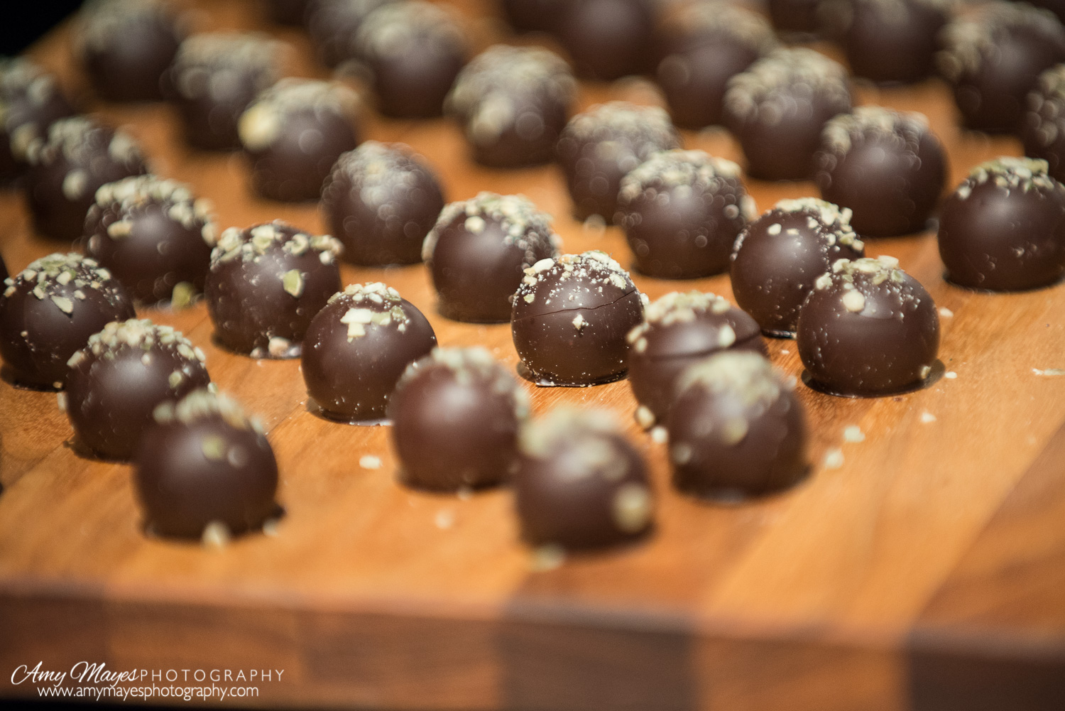 Truffles from Vosges Haut Chocolate