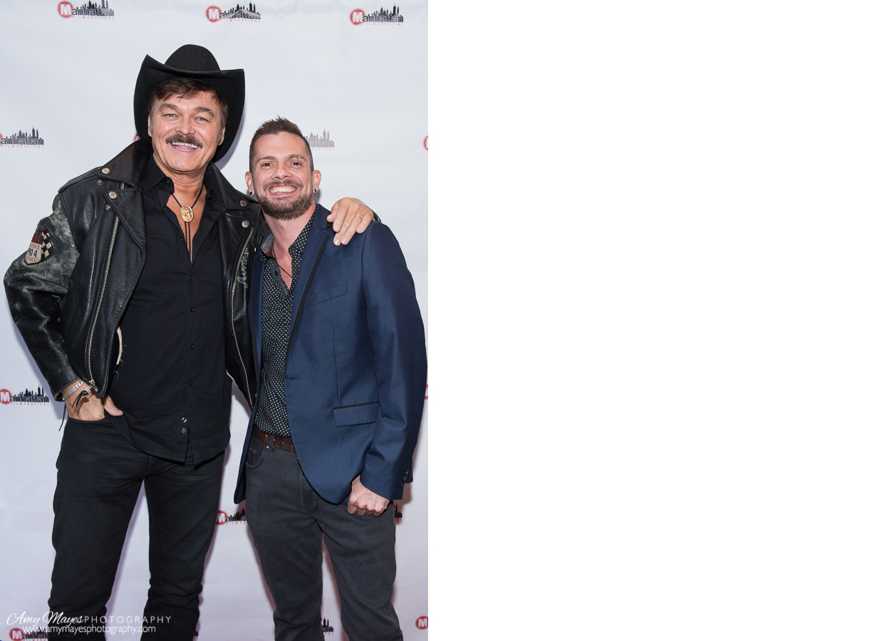 Randy Jones from Village People and filmmaker Robert Camino