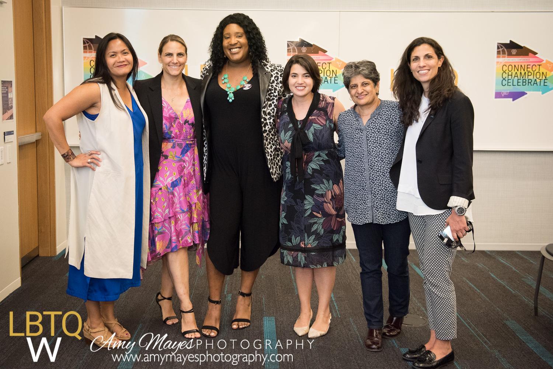 Carmelyn P. Malalis, Glennda Testone, LaLa Zannell, Deena Fidas, Urvashi Vaid, and Darra Gordon