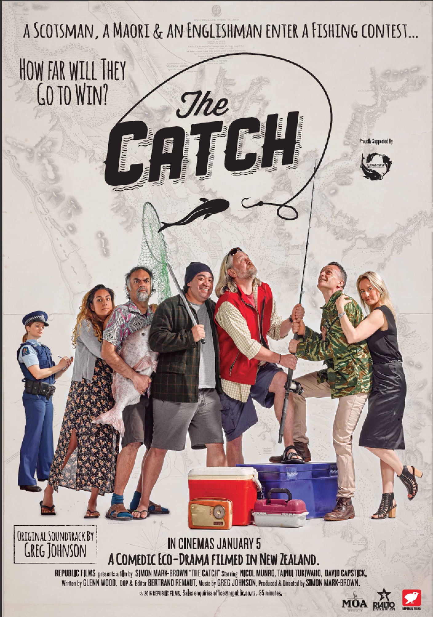 The Catch  - In Cinema 5 January 2016