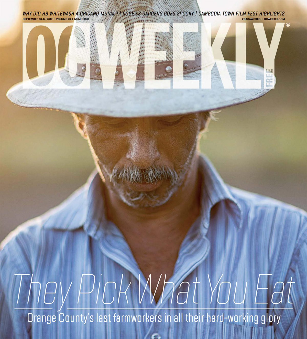 OC Weekly Photo Essay - I started my immigrant photography project as a response to the negative statements made by then-presidential candidate Donald Trump about Mexicans. I was so upset to hear him make such hateful comments that I wanted to do something about it.Both of my parents are immigrants from Mexico. I grew up working alongside many Mexican immigrants in our former family business, JC Fandango in Anaheim. Working in the hospitality industry at a young age gave me a unique perspective: They are often discriminated against, disrespected and very much under-appreciated. So I started taking photos.My original idea with this project was to send a political message without attacking anyone. I chose to take this approach to increase the reach of my message. I do believe this has worked, and I am happy to hear positive feedback from my photos and posts.Then Charlottesville happened, followed by an anti-immigration rally in Laguna Beach. These hate groups made me realize that my project was even more important than I had first imagined.My goal is to open some eyes. My hope is that when people see my photographs, they might be inspired to leave an extra-nice tip on their pillow for Guadalupe in housekeeping; say,