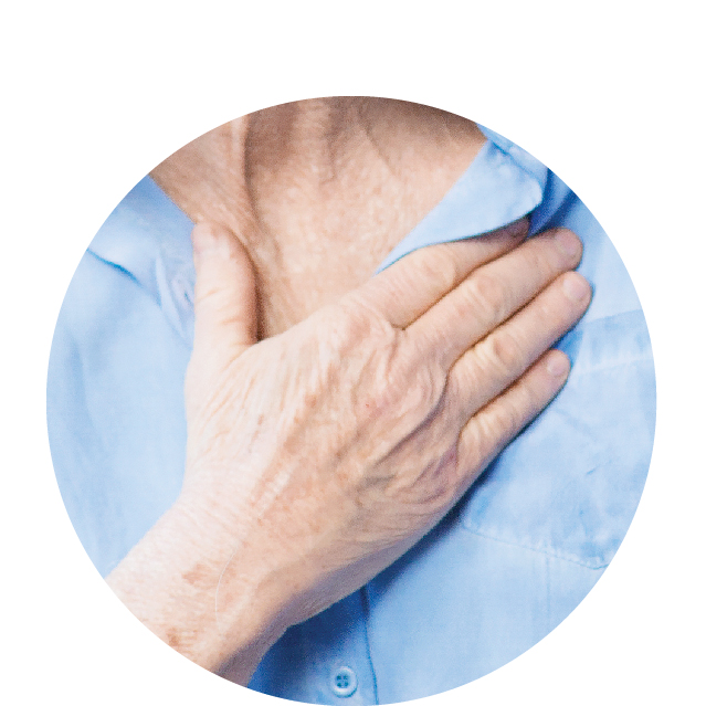reduces risks of stroke -