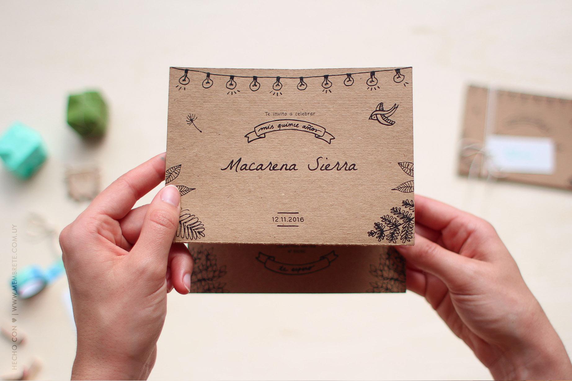 Macarena ♪ Fiesta 15 | MEMBRETE | www.membrete.com.uy