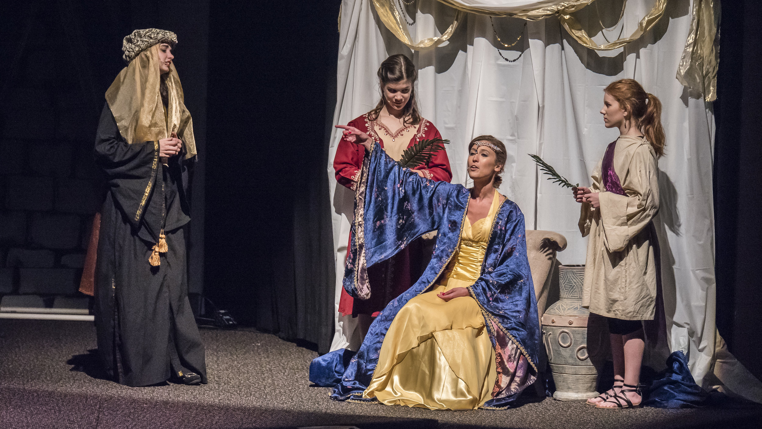 Queen Vashti - played by Shawna Hackl