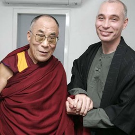 NissiM amon and the dalai lama