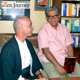 nissim with deepak chopra
