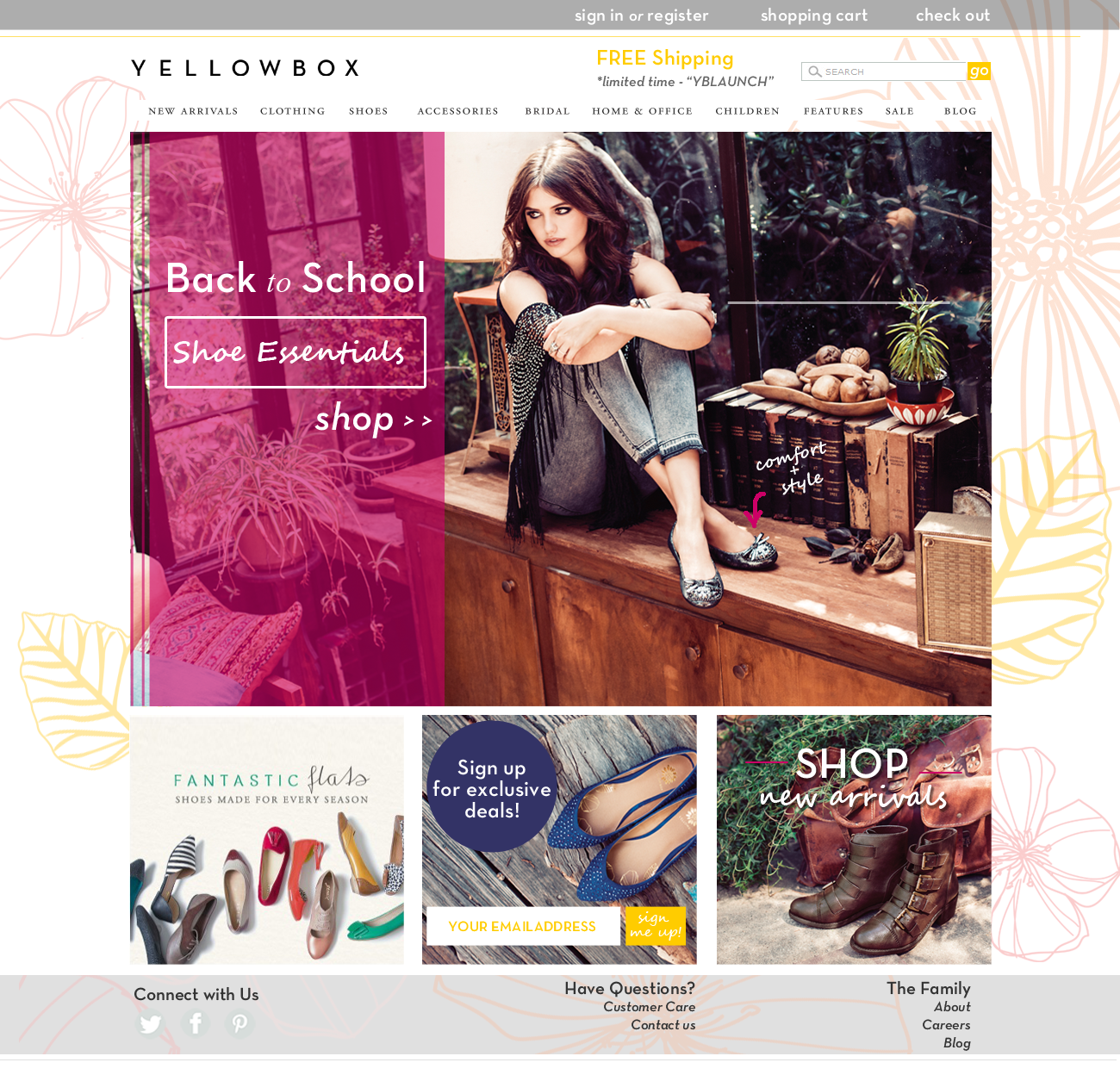 Yellowbox Shoes