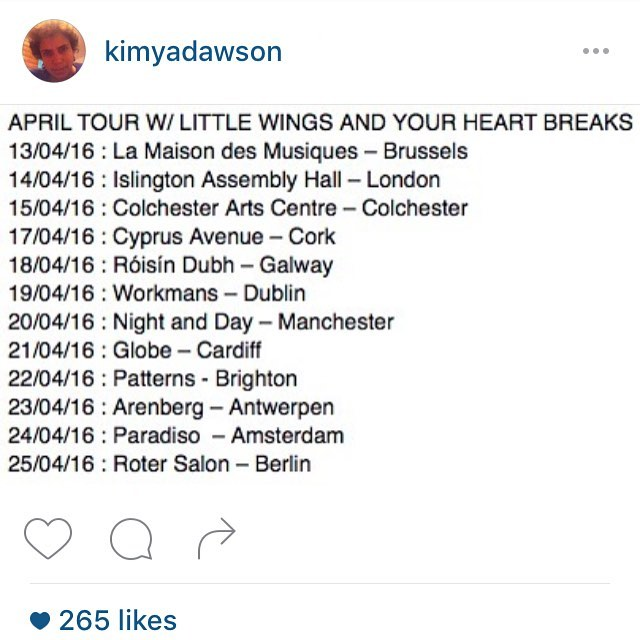 Regram from @kimyadawson this is coming up quick!